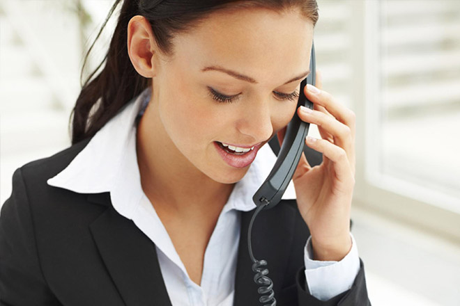 automated phone answering service