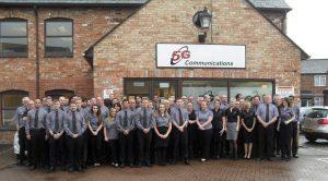 5G Communications team for business broadband internet